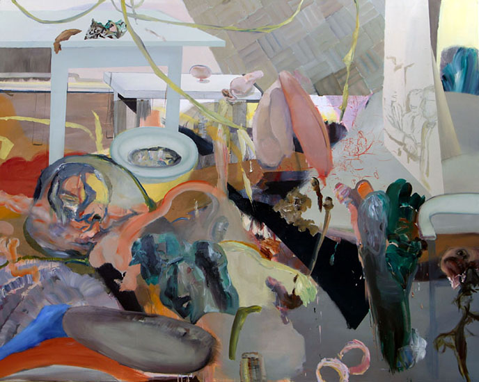 oil on canvas, 250cm x 200cm