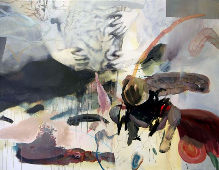 oil on canvas, 260cm x 200cm