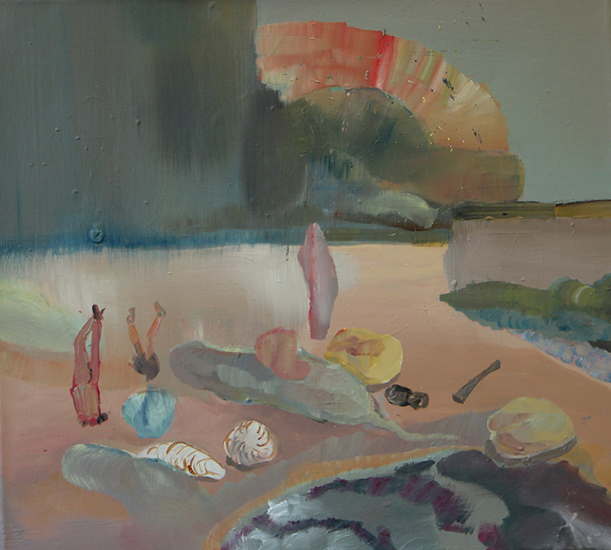oil on canvas, 55cm x 50cm