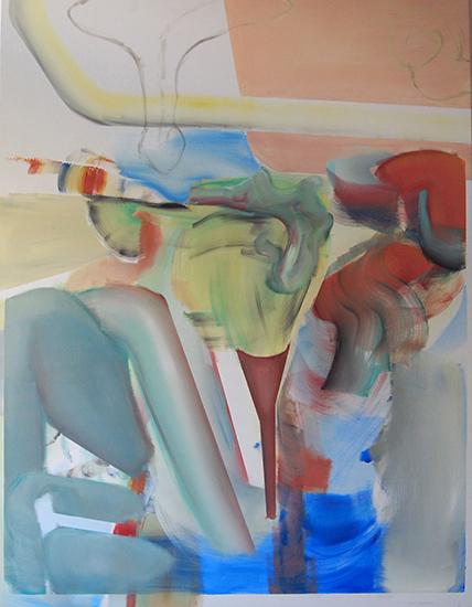 130 cm x 170 cm, oil on canvas