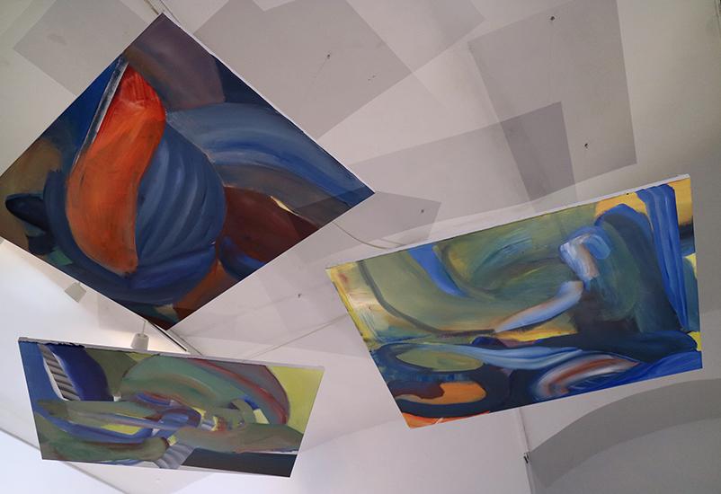 oil and acrylic on canvas,82x105 cm