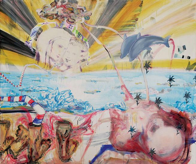 acrylic on canvas, 240cm x 200cm